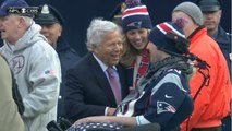 Patriots crowd sings 'Happy Birthday' to Ice Bucket Challenge creator