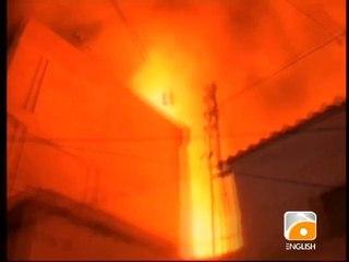 Karachi Timber Market Fire