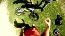 Unbelieveable bike rider