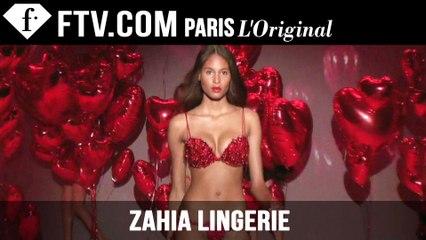 Zahia Lingerie Show 3 | Paris Couture Fashion Week Fall/Winter 2012/13 | FashionTV