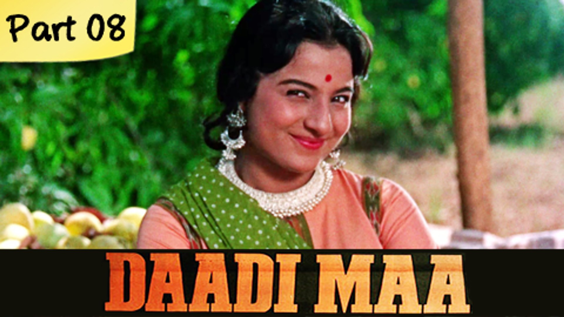 Daadi Maa - Part 08/14 - Super Hit Classic Bollywood Family Movie - Ashok Kumar, Mumtaz, Mehmood
