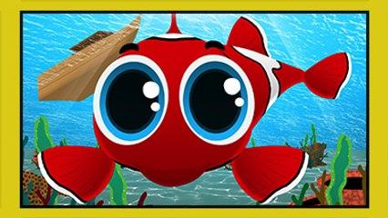 Kırmızı Balık - Çocuk Şarkısı - Edis ile Feris Çizgi Film Çocuk Şarkıları Videoları