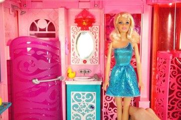 Barbie Rüya Evi (3.Bölüm) - BANYO - EvcilikTV