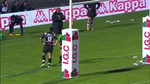 TOP14 - Bordeaux-Brive: Essai de pénalité (BOR) - J14 - Saison 2014/2015