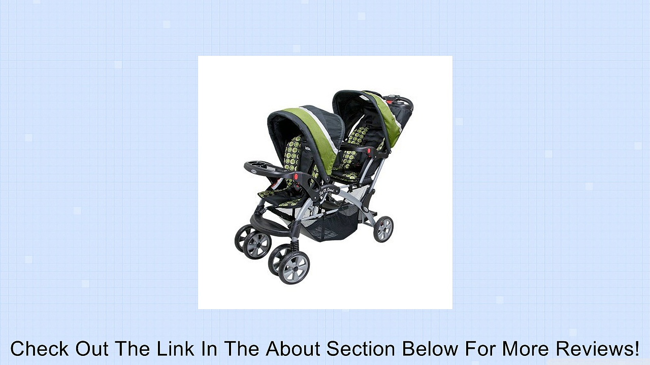 Elite Sit n Stand Double Stroller Review
