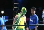 Yuki Sato, Tearan Shisa & Australia Wolf vs. Tank Nagai, Kunio Toshima & Yuma (KAIENTAI Dojo)