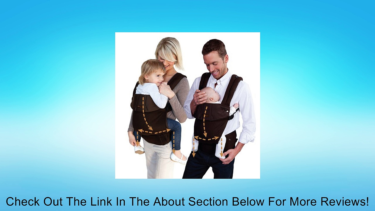 l�ll�baby� COMPLETE Baby Carrier Original – Black/Black Review