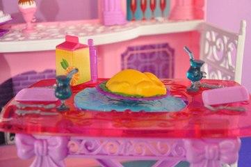 Babrie Rüya Evi Sofra Hazırlığı - Barbie Videoları - Evcilik TV