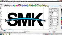Tutorial CorelDRAW X6 Logo SMK