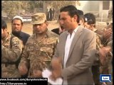 Dunya News - Younas Khan visits Army Public School in Peshawar to pay his respects to those who died in attack
