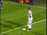 06/11/05 : Yoann Gourcuff (17') : Troyes - Rennes (2-1)