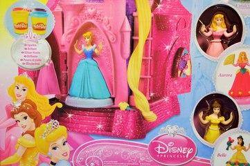 Disney Prensesler PlayDoh saray ve hamur seti (UZUN Video) - EvcilikTV