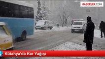 Afyonkarahisar-Kütahya Karayolu Ulaşıma Kapandı