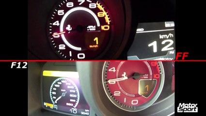 Ferrari FF VS Ferrari F12 : la plus rapide est...
