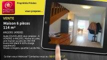 A vendre - maison - ANGERS (49000) - 6 pièces - 114m²