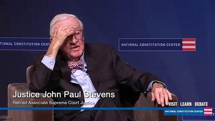 John Paul Stevens Regrets Marijuana & Voter ID Rulings