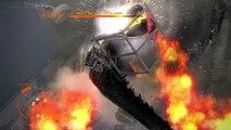 Godzilla The Game (PS3) - Walkthrough Gameplay Part 5 - Gojira ゴジラ Vs. Godzilla 2014 & Jet Jaguar