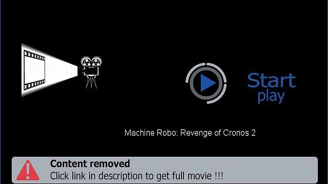 Machine Robo: Revenge of Cronos 2 HD Full Movie