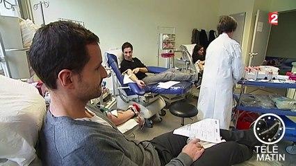 Appel à la mobilisation : pas assez de dons de sang en période de fêtes de fin d'année