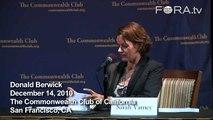 Berwick Counters Healthcare Critics, Claims of Socialism