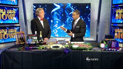 World News Now Festive Food & Drink Ideas For New Year's Eve.