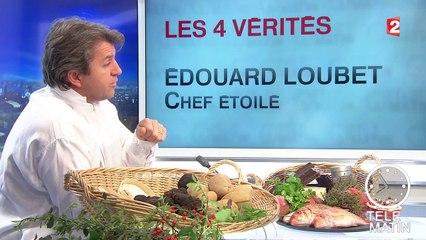 Les 4 vérités : Édouard Loubet, récemment élu cuisinier de l'année, propose un menu de Saint-Sylvestre