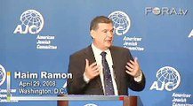 Israeli Vice Premier Haim Ramon on the Iranian Threat