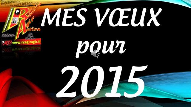 Mes voeux 2015