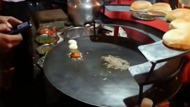 Street Food - Indian Spicy Food - Egg Bhurji - Cooking In India Street Food - Egg Bhurji+ Indian Recipe_(new)