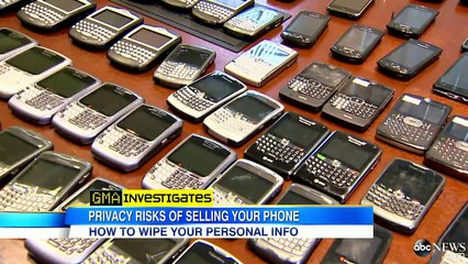 Confirming Your Personal Information is Fully Wiped Off Your Old Phone.