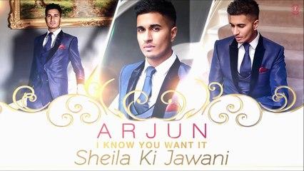 I  know You Want It (Sheila Ki Jawani) Song Motion Poster - Arjun - movizonline