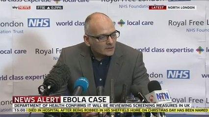 Update On British Ebola Patient's Condition.