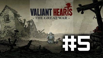 Valiant Hearts: The Great War - Parte 5 - Español (HD)