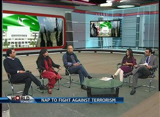 Programme: World Tonight... Topic:  NAP To Curb Terrorism  In Pakistan