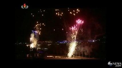North Korea Celebrates Arrival of 2015.