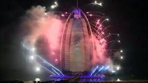 World Record DUBAI 2015 New Years Eve Midnight Fireworks Celebration