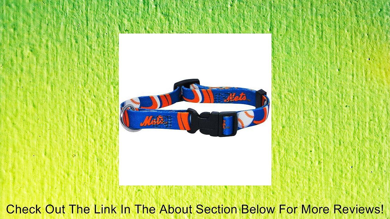Hunter MFG New York Mets Dog Collar, Extra Large Review