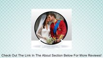 Prince William and Kate. Duke and Duchess of Cambridge Royal Wedding Kiss 15CM commemorative plate 15cm (6inch) Review