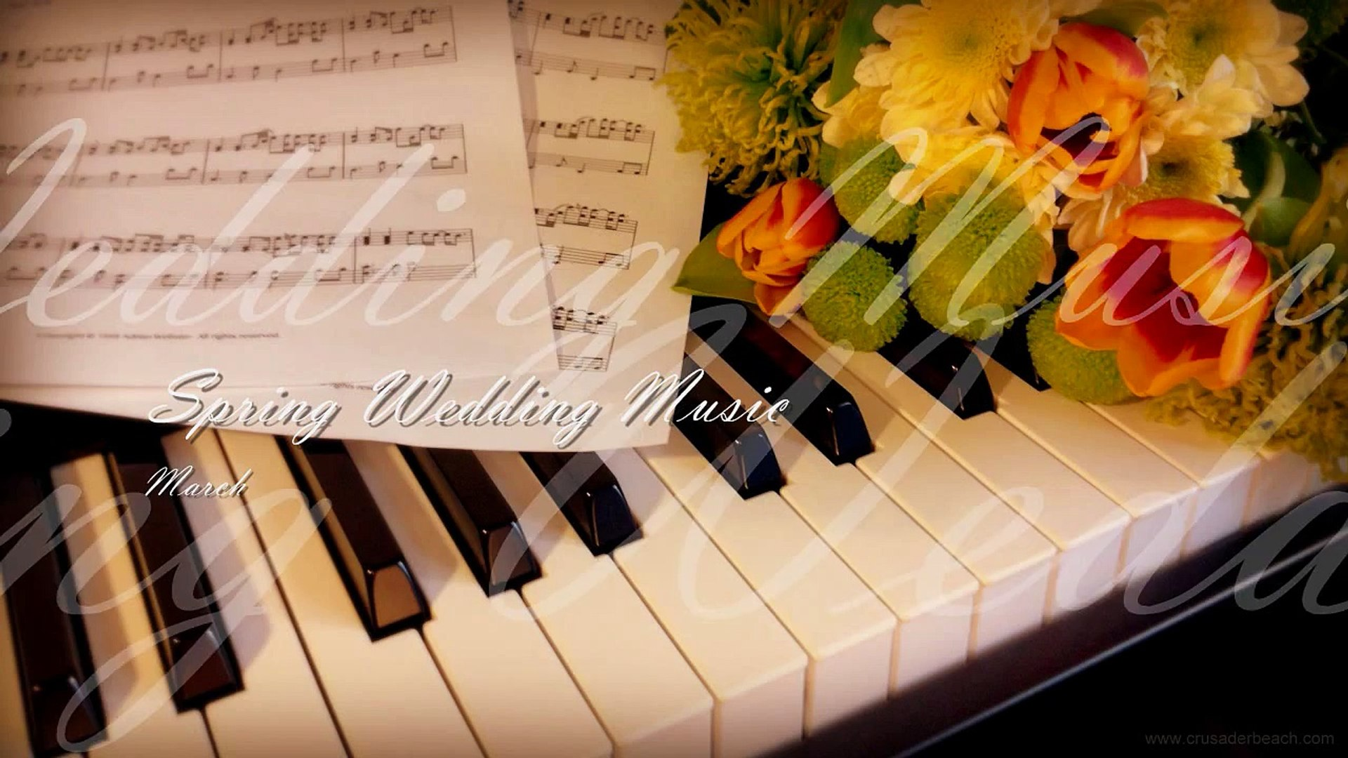 Most Beautiful Wedding Songs | Best Piano Instrumental Music for Perfect  Spring Wedding Ceremony