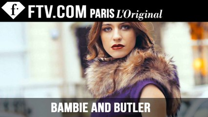 Bambie and Butler Campaign Video | FashionTV