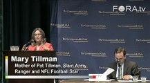 Mary Tillman Blames Rumsfeld for Pat Tillman's Death
