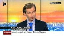 La blague à répétition de l'UMP Guillaume Larrivé pour critiquer les vœux de François Hollande 2