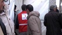 Türk Kızılayı, Sığınmacı Ailelere İnsani Yardım Dağıtımına Başladı