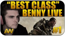 """CoD AW: SMG """"Best Class Setup"""" Benny Live #1 (Call of Duty Advanced Warfare Multiplayer)"""