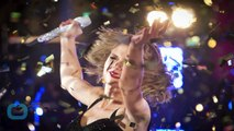 Taylor Swift Trips and Falls at New Year's Rockin' Eve, Rings in 2015 With Ryan Seacrest