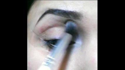 Glitter eye makeup Tutorial 2015 (watch in HD)
