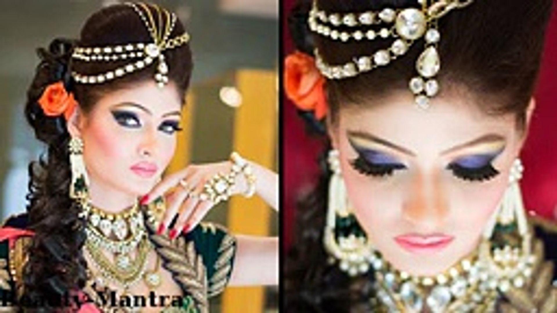 bridal makeup - indian princess look