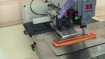 Automate de couture à contrôle électronique pour sangles d'arrimage
