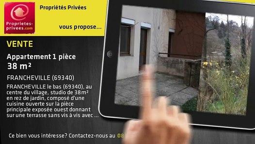 A vendre - appartement - FRANCHEVILLE (69340) - 1 pièce - 38m²
