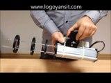 Logo Yansıt Mağaza Rayı Logo Yansıtma Cihazı Kullanım Videosu